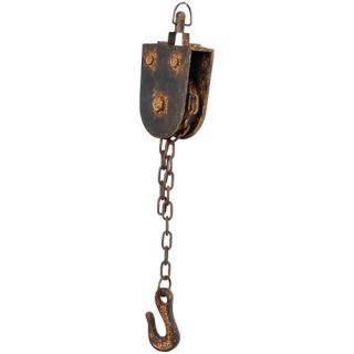 Wilco Cast Iron Pulley with Hook on Chain 69 5237