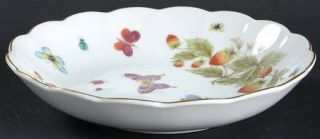 Royal Crown (Japan) Spring Time Coupe Soup Bowl, Fine China Dinnerware   Strawbe