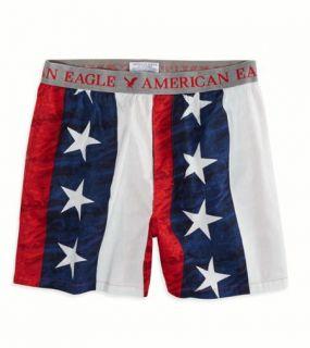 Red AE Americana Boxer, Mens XXL