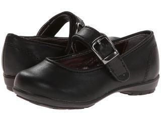 Kenneth Cole Reaction Kids Fly School Jr Girls Shoes (Black)