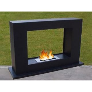 Bayshore Black Portable Gel Fireplace   BS 15 PORTABLE