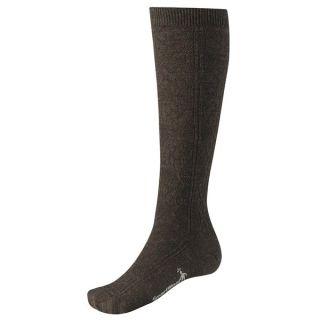 SmartWool Trellis Knee High Socks   Merino Wool  Over the Calf (For Women)   CHESTNUT HEATHER (S )