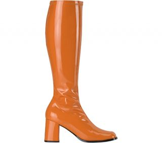 Womens Funtasma Gogo 300   Orange Stretch Patent Boots