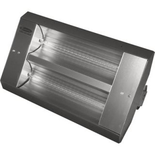 TPI Indoor/Outdoor Quartz Infrared Heater   10,922 BTU, 240 Volts, Galvanized
