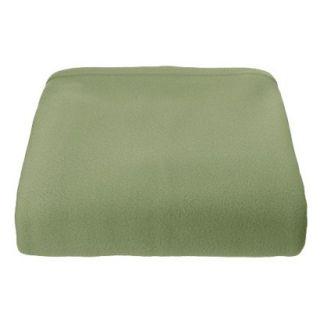 Super Soft Fleece Blanket   Basil (King)