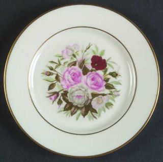 Royal Jackson Lady Lee Bread & Butter Plate, Fine China Dinnerware   Floral Cent