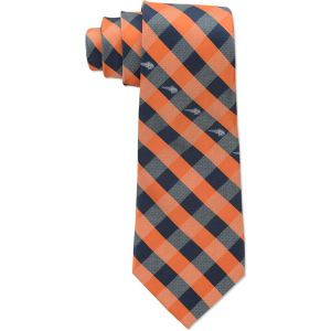 Charlotte Bobcats Eagles Wings Polyester Checked Tie