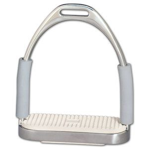 Horse s Jointed Stirrup Irons 4 1/4