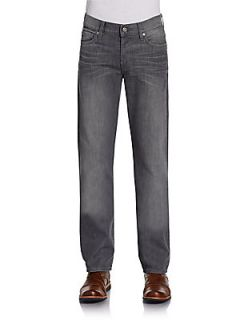 Standard Faded Jeans   La Grind Grey