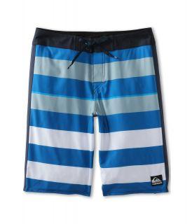 Quiksilver Kids Cypher Brigg Boardshort Boys Swimwear (Blue)