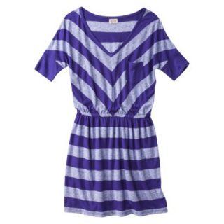 Mossimo Supply Co. Juniors V Neck Dress  Kindred Blue XXL(19)