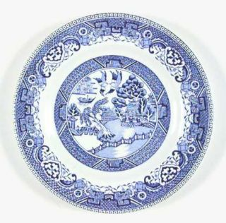 Washington Pottery Old Willow Blue Bread & Butter Plate, Fine China Dinnerware