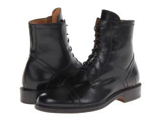Massimo Matteo 6 Eye Cap Boot Mens Shoes (Black)