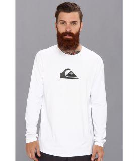 Quiksilver Solid Streak L/S Surf Shirt AQYWR00046 Mens T Shirt (White)
