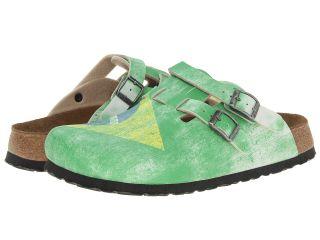 Birkenstock Birkis Kay by Birkenstock Mens Clog Shoes (Green)