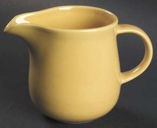 Nancy Calhoun Solid Color Honey Creamer, Fine China Dinnerware   All Honey, Ston