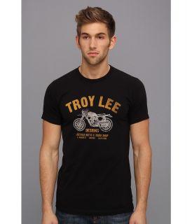 Troy Lee Designs Motoshop Premium Fit Tee Mens T Shirt (Black)