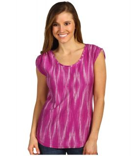 Columbia Rocky Ridge II Print Tee Womens T Shirt (Red)