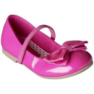 Toddler Girls Cherokee Daphne Ballet Flat   Pink 7
