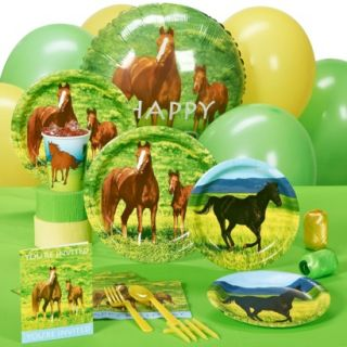 Wild Horses Party Pack for 16 Guests