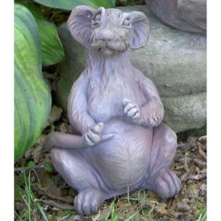 Brookfield Co Morgan the Rat Garden Statue   136 N