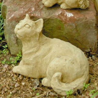 Brookfield Co Reclining Cat Garden Statue   107 N