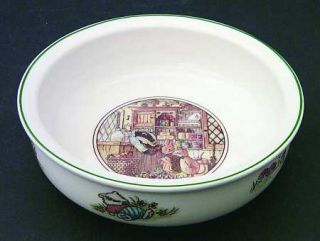 Villeroy & Boch Foxwood Tales Porringer, Fine China Dinnerware   Boutique Shape,