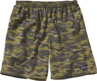 Mens Patagonia Baggies™ Shorts 7   Kasih Ikat/Willow Herb Green Ath