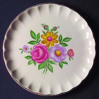WS George Romance Bread & Butter Plate, Fine China Dinnerware   Bolero Shape,Pin
