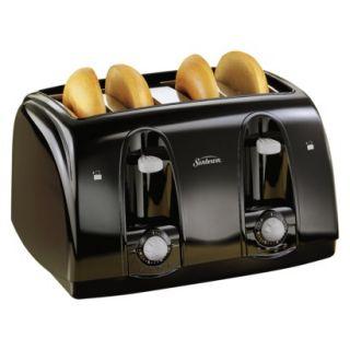 Sunbeam 4 Slice Toaster Black