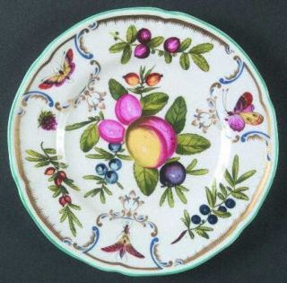 Royal Worcester Duke Of Gloucester Salad Plate, Fine China Dinnerware   Floral B