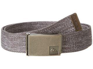 Quiksilver Principle Belt Mens Belts (Gray)