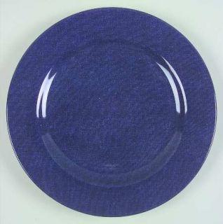 American Living Denim Dinner Plate, Fine China Dinnerware   All Denim Blue,Undec