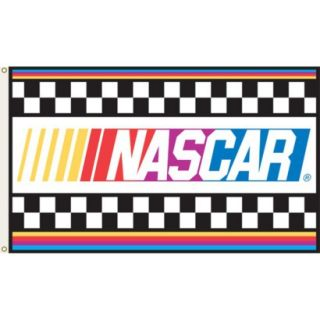 NASCAR Logo Flag   3x5
