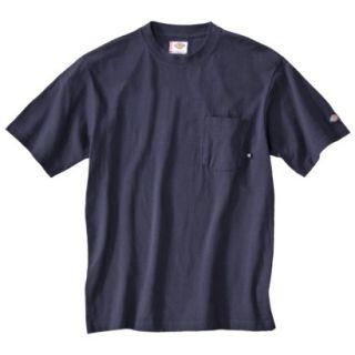 Dickies Mens Short Sleeve Pocket T Shirt with Wicking   Dark Navy XXXL T