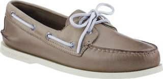 Mens Sperry Top Sider A/O 2 Eye Free Time   Tan Full Grain Leather Sailing Shoe