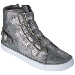Girls Circo Hadlee High Top Sneaker   Pewter 13