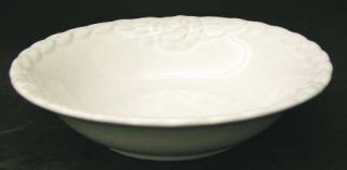 Christian Dior French Country Rose White Coupe Soup Bowl, Fine China Dinnerware