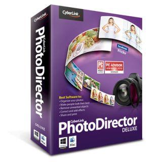 Cyberlink Photo Director: Deluxe (PC Software)