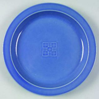 Dansk Terrazzo French Blue Salad Plate, Fine China Dinnerware   All Blue, Basket