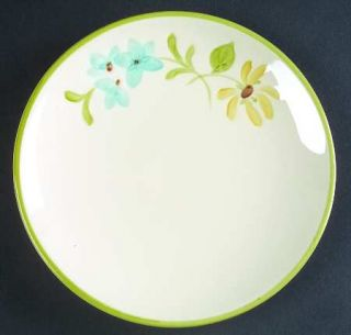 Franciscan Daisy Bread & Butter Plate, Fine China Dinnerware   Yellow Daisies,Bl