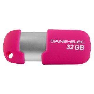 Dane Elec 32GB USB Flash Drive   Pink (DA Z32GCNHP5D C)