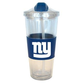 Boelter Brands NFL 2 Pack New York Giants No Spill Tumbler with Straw   22 oz