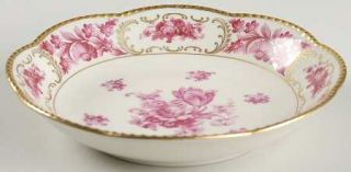Schumann   Bavaria Vienna Rose Coupe Soup Bowl, Fine China Dinnerware   Pink Flo