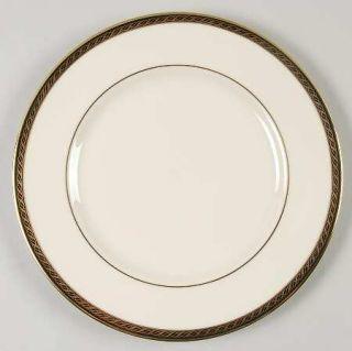 Lenox China Tyler Salad Plate, Fine China Dinnerware   Presidential, Black Band,