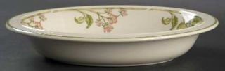 Wedgwood Wild Apple (Granada/Sterling Shape) 9 Oval Vegetable Bowl, Fine China