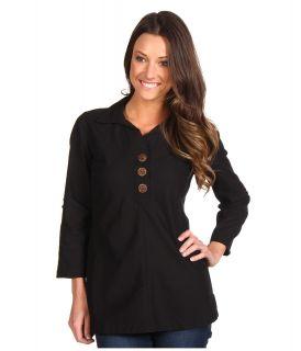 Royal Robbins Cool Mesh Tunic Womens Blouse (Black)