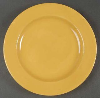 Essential Home Fiesta Yellow Dinner Plate, Fine China Dinnerware   All Yellow, R