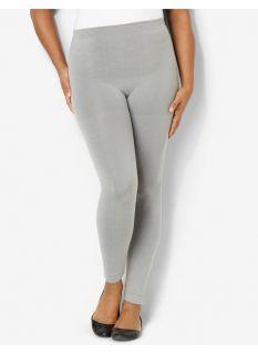 90647c7d1df6e Catherines Plus Size Seamless Control Top Capri Leggings Womens Size ...