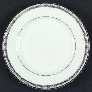 Gorham Lady Anne Signature Platinum Salad Plate, Fine China Dinnerware   Platinu
